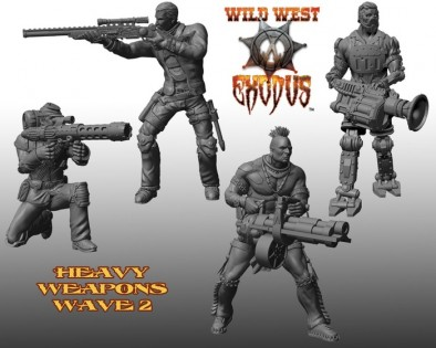 Heavy Weapon Wave 2