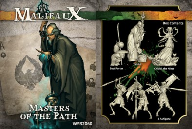 Malifaux - Masters of the Path