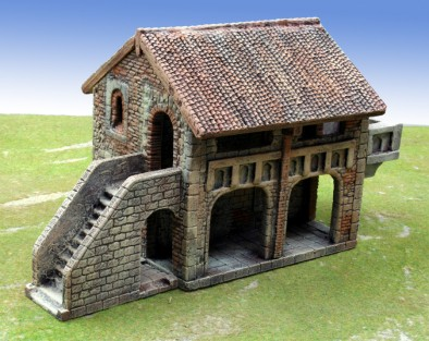 Manorhouse Workshop - House with Arcade