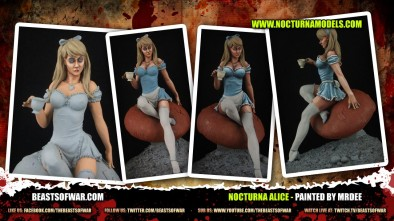 Nocturna Alice - Painted by mrdee