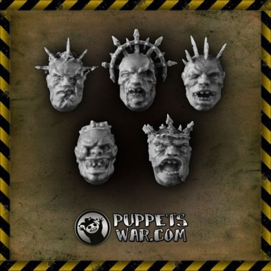 Puppets War - Mad King Heads