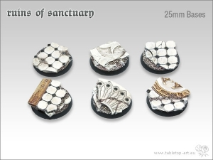 Ruins of Sanctuary 25mm