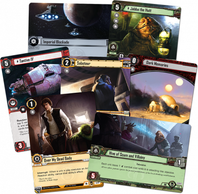 Star Wars Edge of Darkness Cards