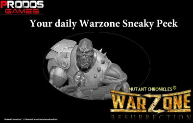 Warzone Mutant Chronicles Preview #3