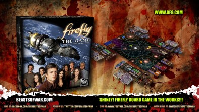Shiney!Firefly Board Game in The Works!!!