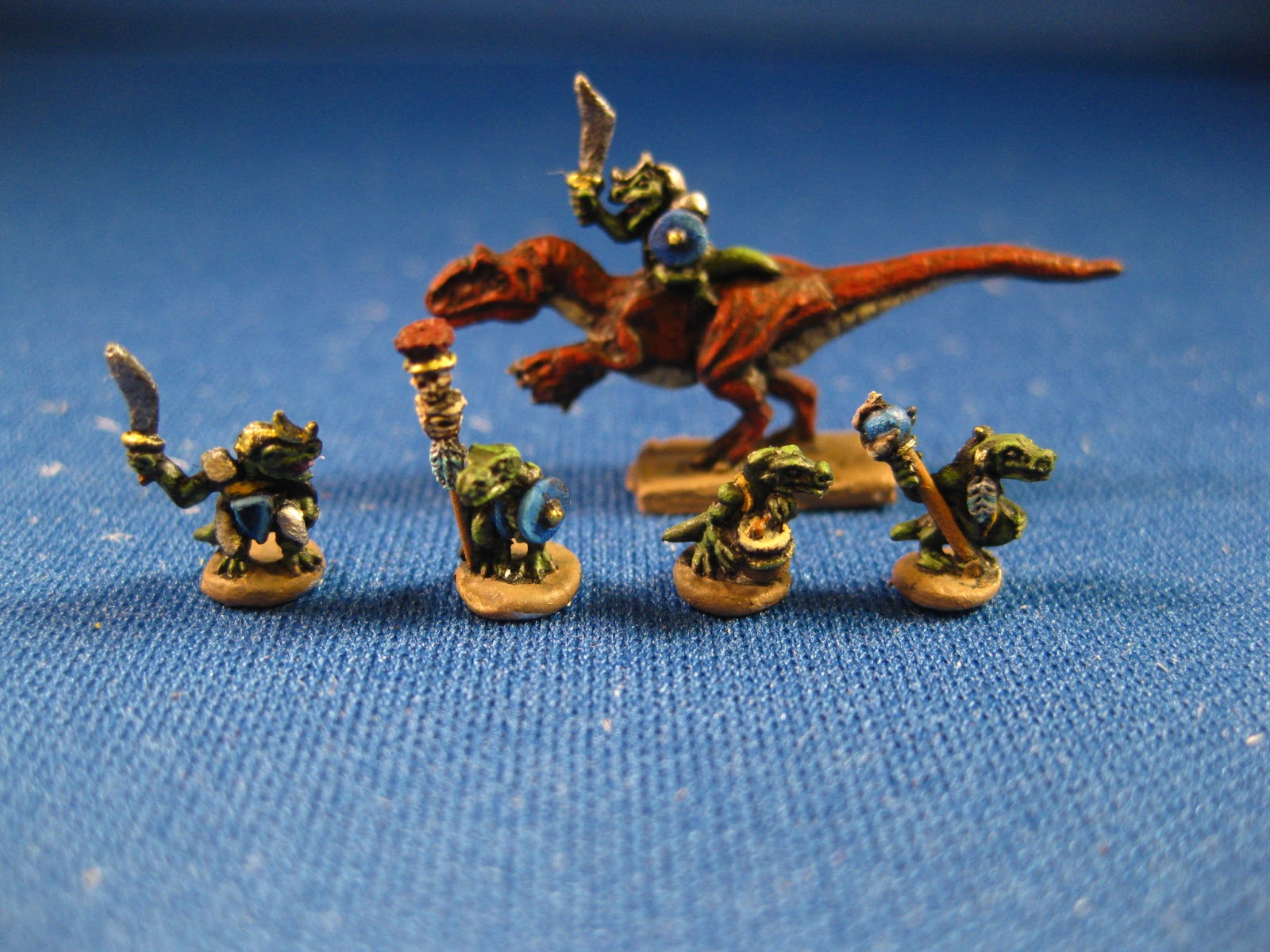 Microworld Unleash A Horde Of Tiny Lizardmen – OnTableTop – Home of