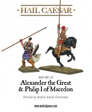 Alexander the Great son of Philip I of Macedon (Front)