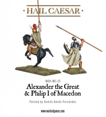 Alexander the Great son of Philip I of Macedon (Rear)