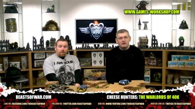 Cheese Hunters: The Warlords of 40k