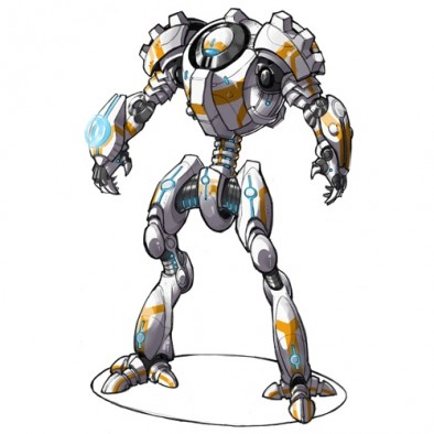 Chromium Chargers Robot