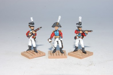 Danish Officers & Infantry