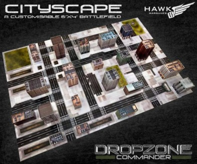 Dropzone Commander City Scape