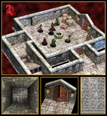 Dungeons of the Mountain King 1
