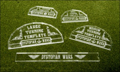 Dystopian Wars Turning templates