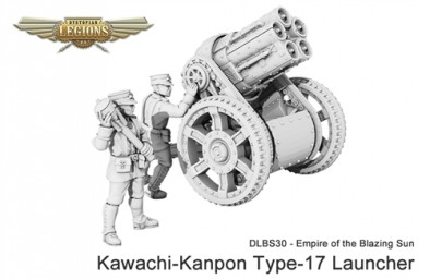 Empire of the Blazing Sun Kawachi Kanpon Type 17 Launcher