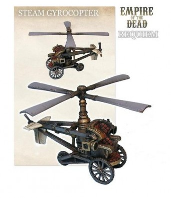 Empire of the Dead Steam Gyrocopter