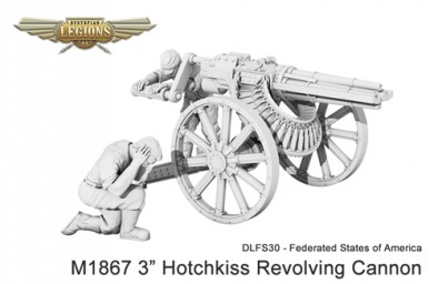 Federated States of America M1867 Hotchkiss Revolving Cannon
