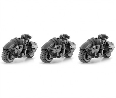 Forge World Outrider Bike Squadron