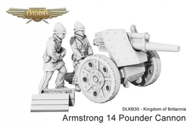 Kingdom of Britannia Armstrong 14 Pounder Cannon
