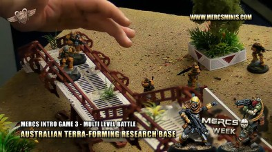 Mercs Intro Game 3 - Multi Level Battle - Australian Terra-forming Research Base