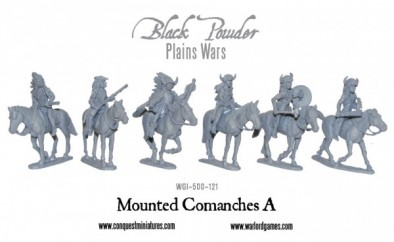 Mounted Comanches #A