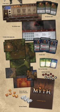 Myth Boxed Set - Components