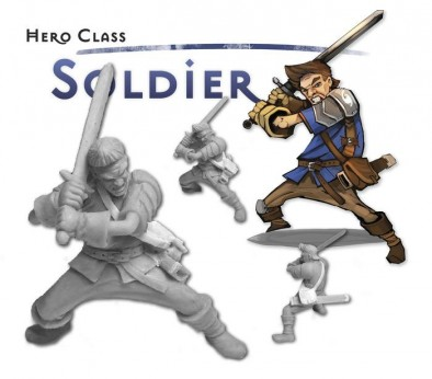 Myth Hero Class - Soldier
