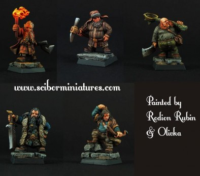 Painted Dwarf Treasure Hunters