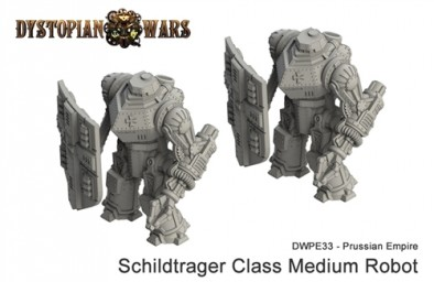 Prussian Empire Schildtrager Class Medium Robot