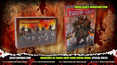 Warriors of Chaos Army Book Break Down: Special Rules