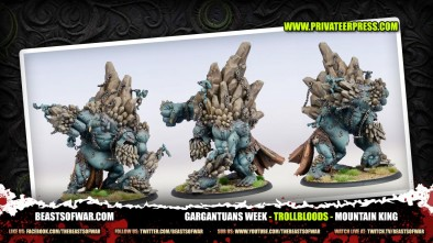 Gargantuans Break Down: Trollbloods Mountain-King