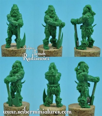 28mm Warrior