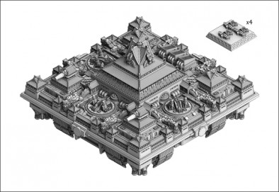 Chinese Federation Dreadnought Fortress