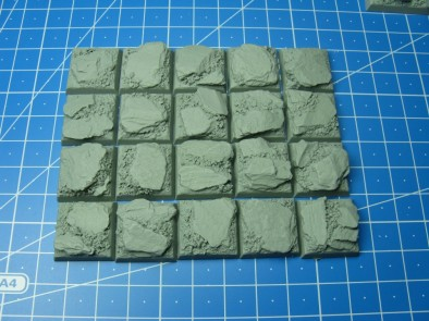 Dragon Forge - 20mm x 20mm Slate Bases