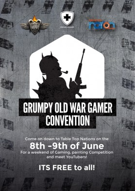 Grumpy Old Wargamers Convention