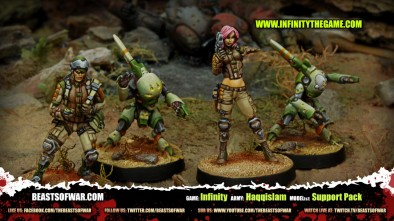 Game: Infinity Army: Haqqislam Model(s): Support Pack