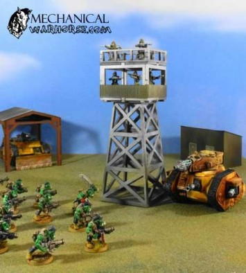 Mechanical Warhorse Observation Tower Demo