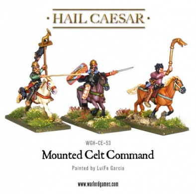 Mounted Celt Command (Front)