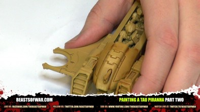 Painting a Tau Piranha Part Two
