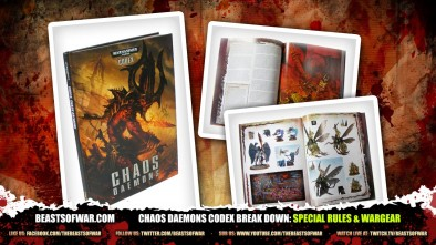 Chaos Daemons Codex Break Down: Special Rules & Wargear