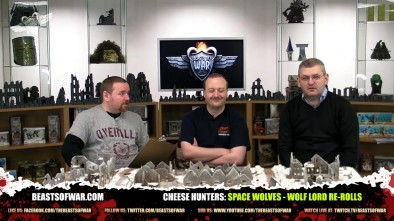Cheese Hunters: Space Wolves - Wolf Lord Re-Rolls