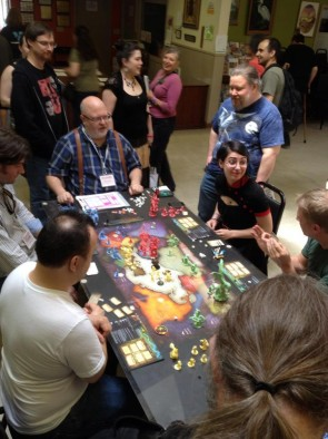 Cthulhu Wars Play Test Session