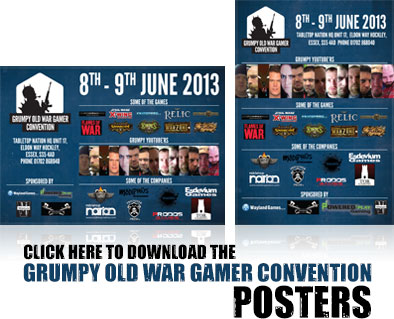Download Grumpy Old War Gamer Con Posters