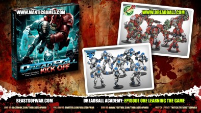 DreadBall Academy: Episode One Learning The Game