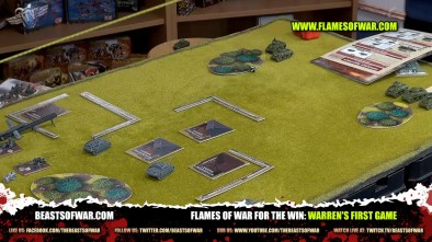 Flames of War For the Win: Warren's First Game