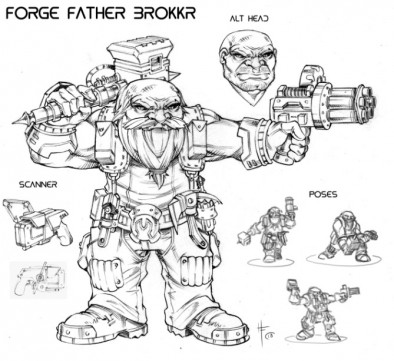 Forge Father Brokkr