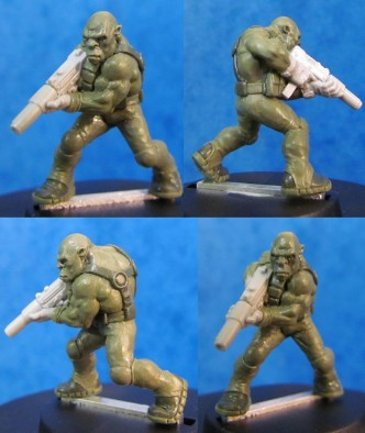 Hasslefree Sci-Fi Soldier