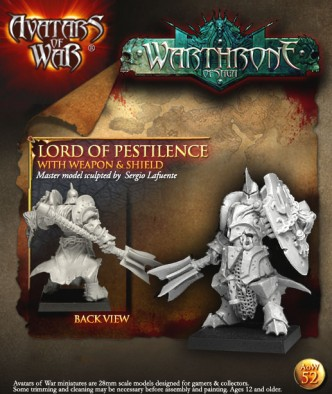 Lord of Pestilence with Weapon and Shield
