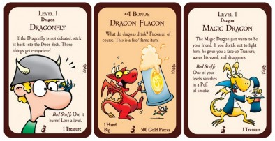 Munchkin Dragons - Sample Cards