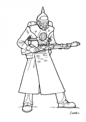 Prussian Soldier Concept